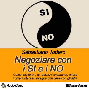 copertina negoziare SI e NO